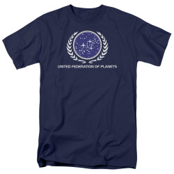 Image Closeup for Star Trek T-Shirt - United Federation of Planets