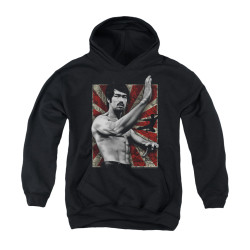 Image for Bruce Lee Youth Hoodie - Concentrate