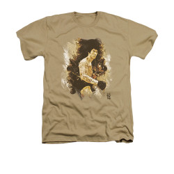 Bruce Lee Heather T-Shirt - Intensity