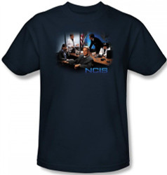 Image Closeup for NCIS Original Cast T-Shirt
