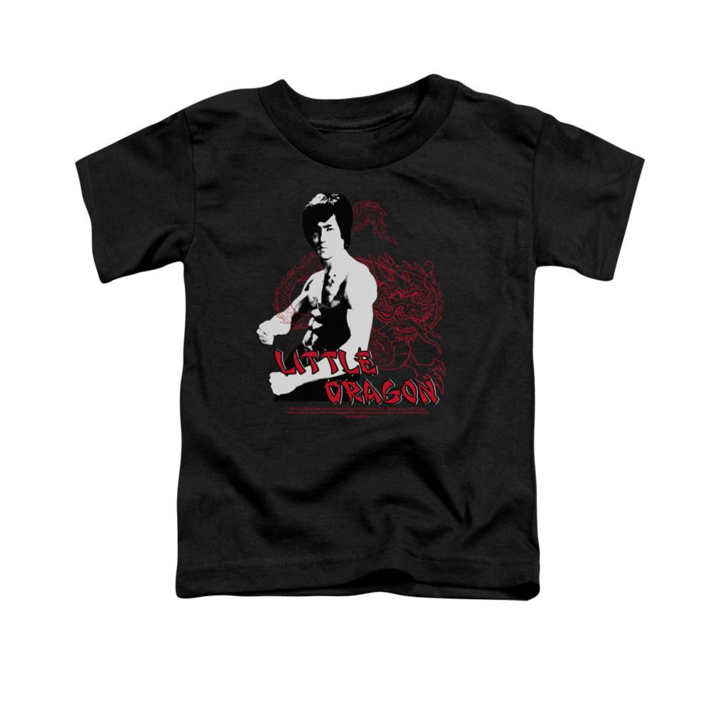 31a90e592 Bruce Lee Toddler T-Shirt - Little Dragon - NerdKungFu.com