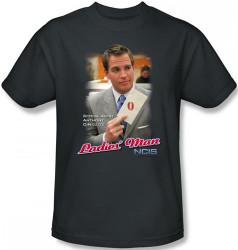 Image Closeup for NCIS Ladies Man T-Shirt