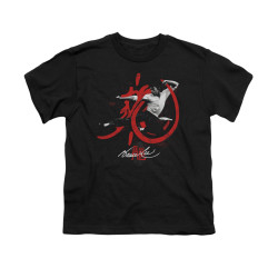 Image for Bruce Lee Youth T-Shirt - High Flying