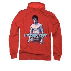 Image for Bruce Lee Hoodie - Lee Works Out