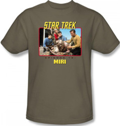 Image Closeup for Star Trek Episode T-Shirt - Episode 12 Miri