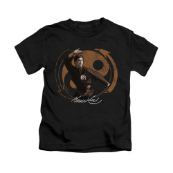 Image for Bruce Lee Kids T-Shirt - Jeet Kune Do Pose