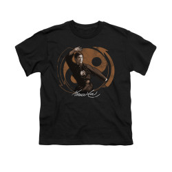 Image for Bruce Lee Youth T-Shirt - Jeet Kune Do Pose