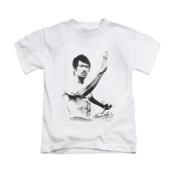 Image for Bruce Lee Kids T-Shirt - Serenity