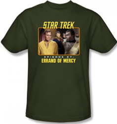 Image Closeup for Star Trek Episode T-Shirt - Episode 27 Errand of Mercy