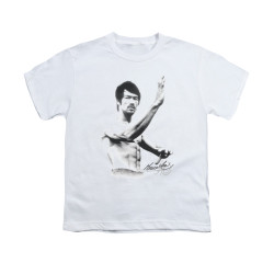 Image for Bruce Lee Youth T-Shirt - Serenity