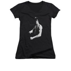 Image for Bruce Lee Girls V Neck T-Shirt - Stance