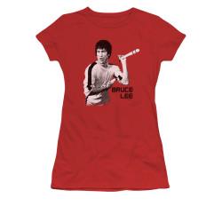Image for Bruce Lee Girls T-Shirt - Nunchucks