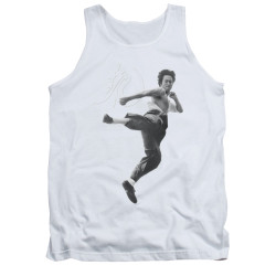 Image for Bruce Lee Tank Top - Flying Kick