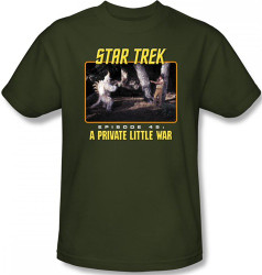 Image Closeup for Star Trek Episode T-Shirt - Episode 45 A Private Little War