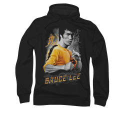 Image for Bruce Lee Hoodie - Yellow Dragon