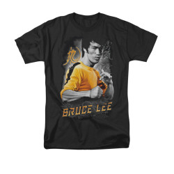Image for Bruce Lee T-Shirt - Yellow Dragon