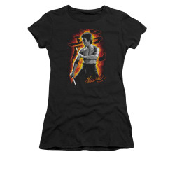 Image for Bruce Lee Girls T-Shirt - Dragon Fire