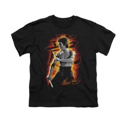 Image for Bruce Lee Youth T-Shirt - Dragon Fire