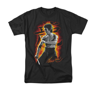 Image for Bruce Lee T-Shirt - Dragon Fire