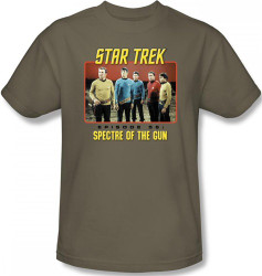 Image Closeup for Star Trek Episode T-Shirt - Episode 56 Spectre of the Gun
