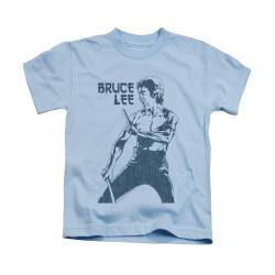 Image for Bruce Lee Kids T-Shirt - Fighter