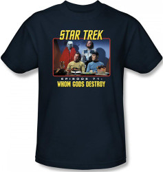 Image Closeup for Star Trek Episode T-Shirt - Episode 57 Whom Gods Destroy