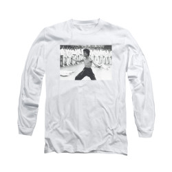 Image for Bruce Lee Long Sleeve T-Shirt - Triumphant