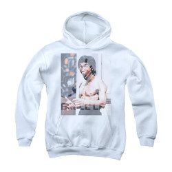 Image for Bruce Lee Youth Hoodie - Revving Up