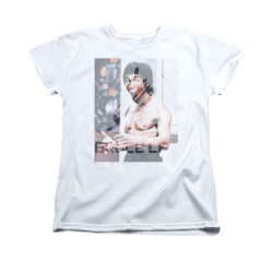 Image for Bruce Lee Woman's T-Shirt - Revving Up