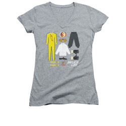 Image for Bruce Lee Girls V Neck T-Shirt - Gift Set