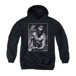 Image for Bruce Lee Youth Hoodie - Focused Rage