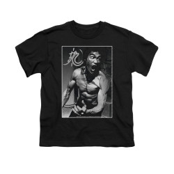 Image for Bruce Lee Youth T-Shirt - Focused Rage