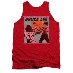 Image for Bruce Lee Tank Top - Comic Panel