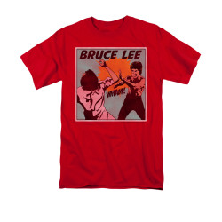 Image for Bruce Lee T-Shirt - Comic Panel