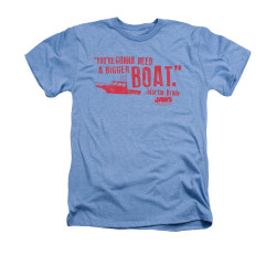 Image for Jaws Heather T-Shirt - Bigger Boat