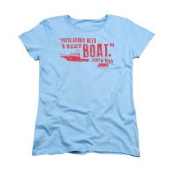 Image for Jaws Woman's T-Shirt - Bigger Boat