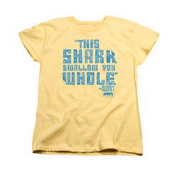 Image for Jaws Woman's T-Shirt - Swallow You Whole