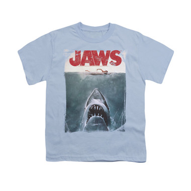 Image for Jaws Youth T-Shirt - Title