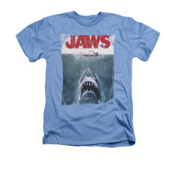 Image for Jaws Heather T-Shirt - Title