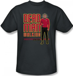Image Closeup for Star Trek T-Shirt - Dead Man Walking