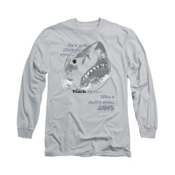 Image for Jaws Long Sleeve T-Shirt - like a doll's eyes