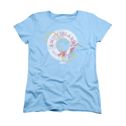 Image for Jaws Woman's T-Shirt - Life Preserver