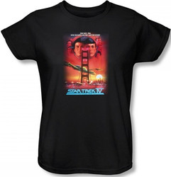 Image for Star Trek Movie Womens T-Shirt - IV the Voyage Home
