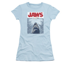 Image for Jaws Girls T-Shirt - Graphic Poster