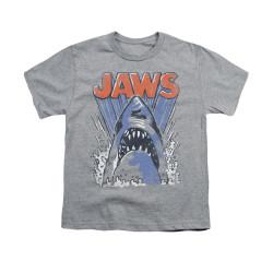 Image for Jaws Youth T-Shirt - Comic Splash