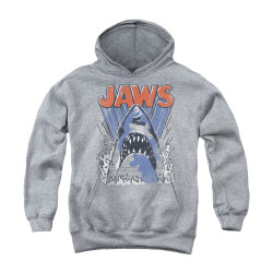 Image for Jaws Youth Hoodie - Comic Splash
