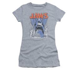 Image for Jaws Girls T-Shirt - Comic Splash
