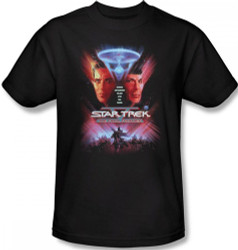 Image Closeup for Star Trek Movie T-Shirt - V the Final Frontier
