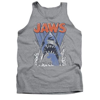 Image for Jaws Tank Top - Comic Splash