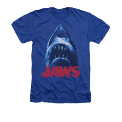 Image for Jaws Heather T-Shirt - From Below